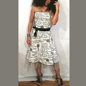 K-SCION Strapless Party Dress